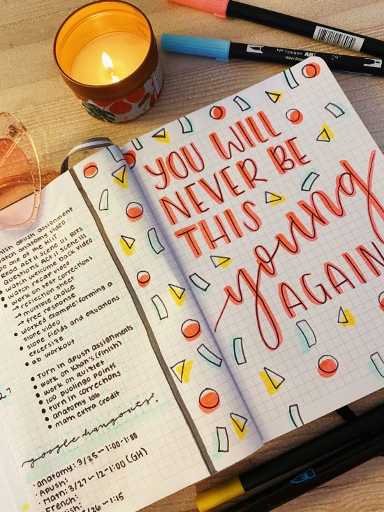 How to make your own planner!